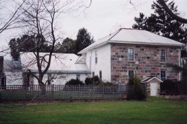 House in early 1990's before renovation.