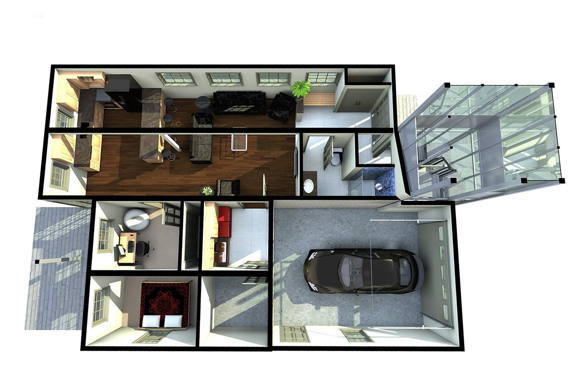 Interior Renderings Kitchen Design Home Woodstockmartin Group