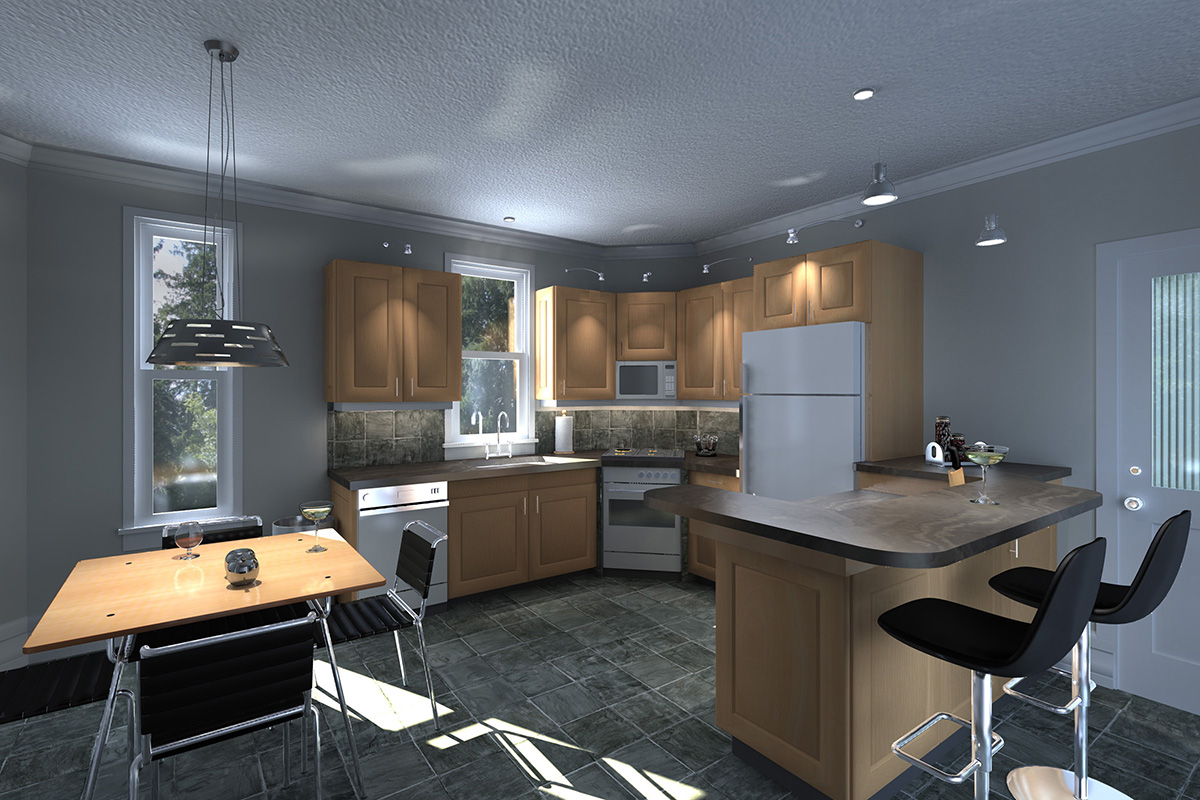 3d interior renderings kitchen design home design for Grand designs 3d renovation interior