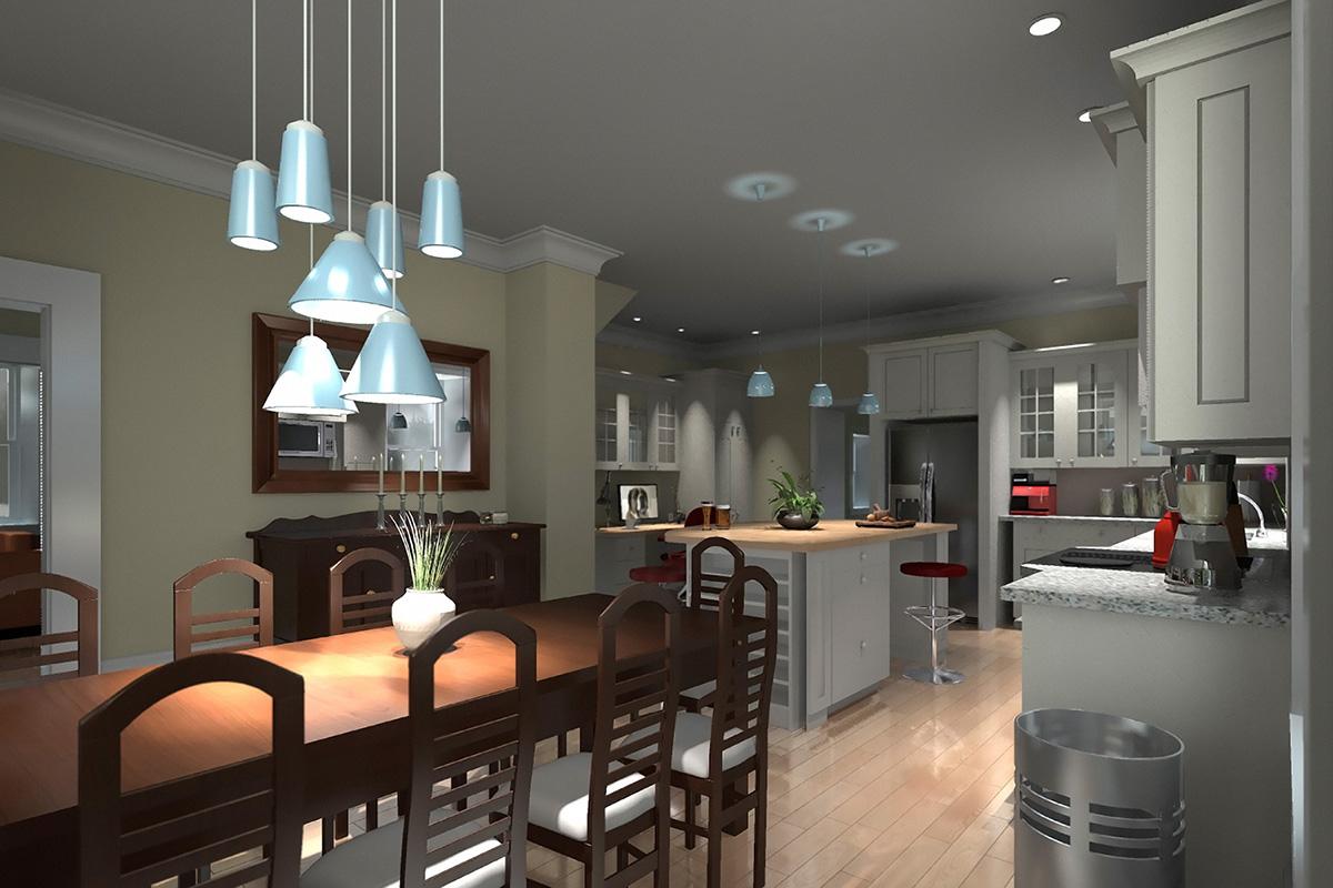 3d interior renderings