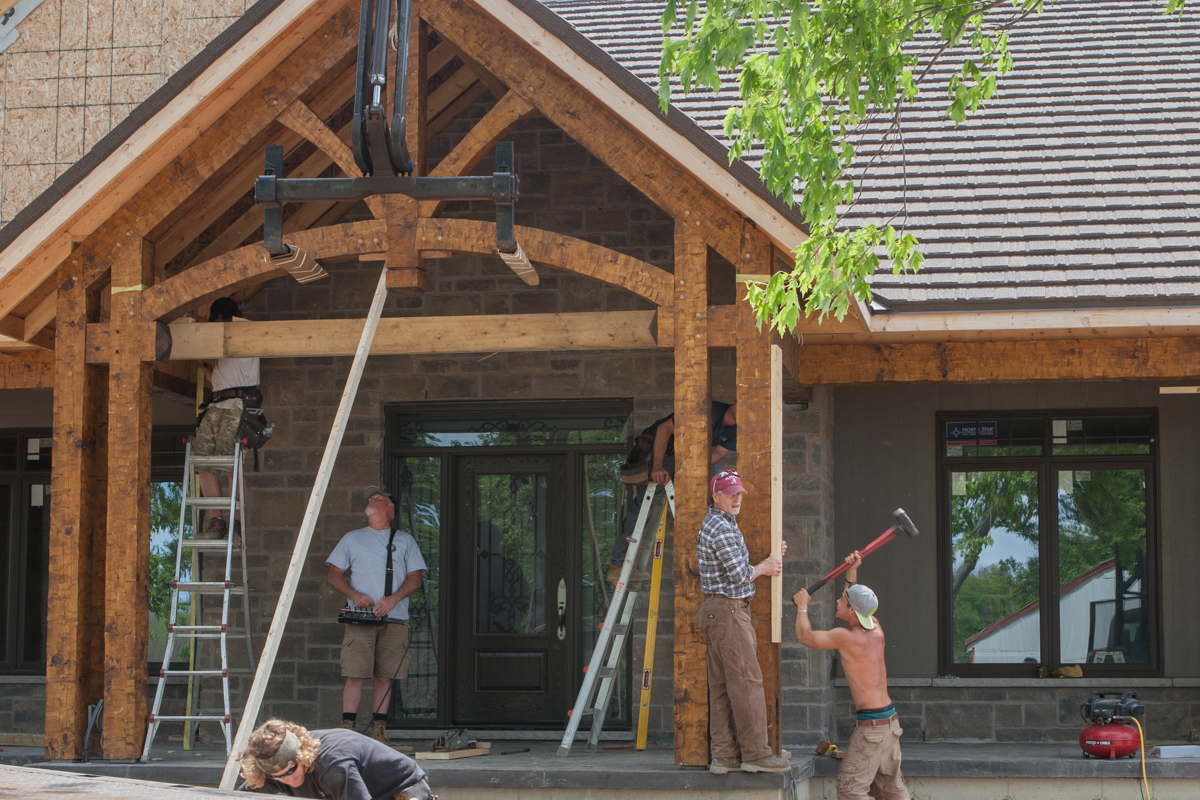 Timber Frame Porch Martin Design Groupmartin Design Group