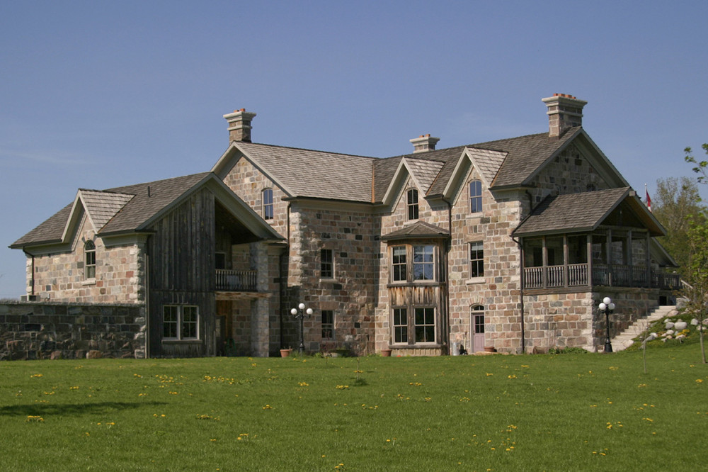 New version of a 39 gothic revival 39 martin design for Gothic revival farmhouse