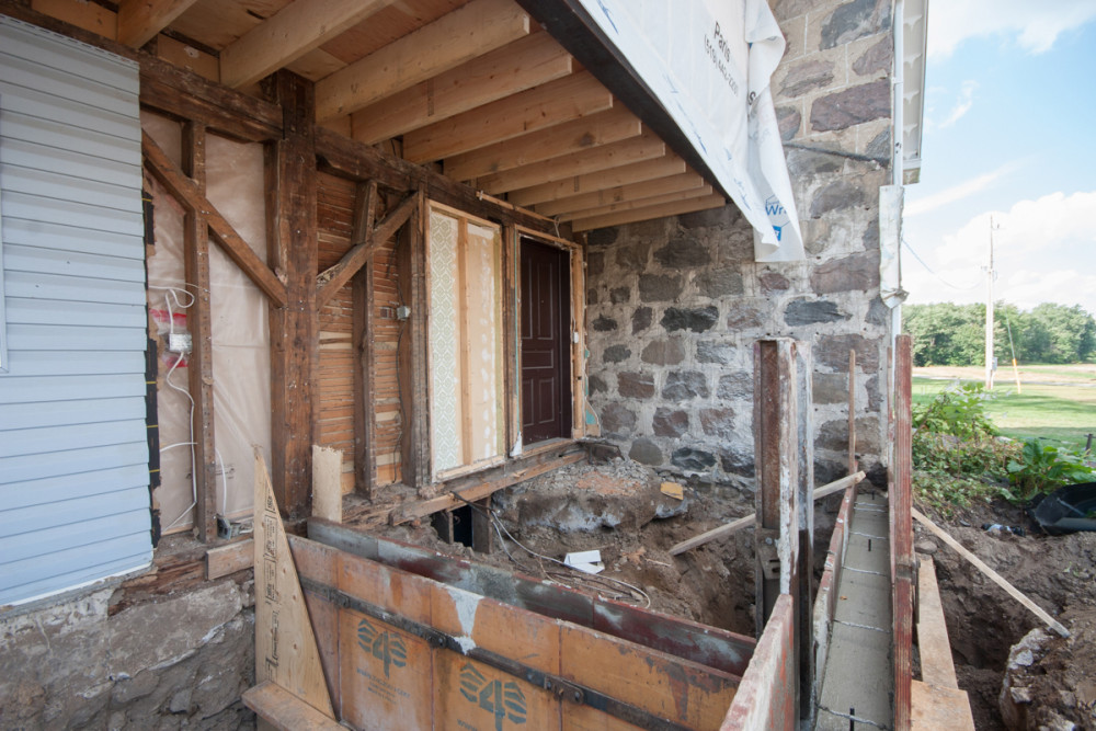 Stone House Renovation