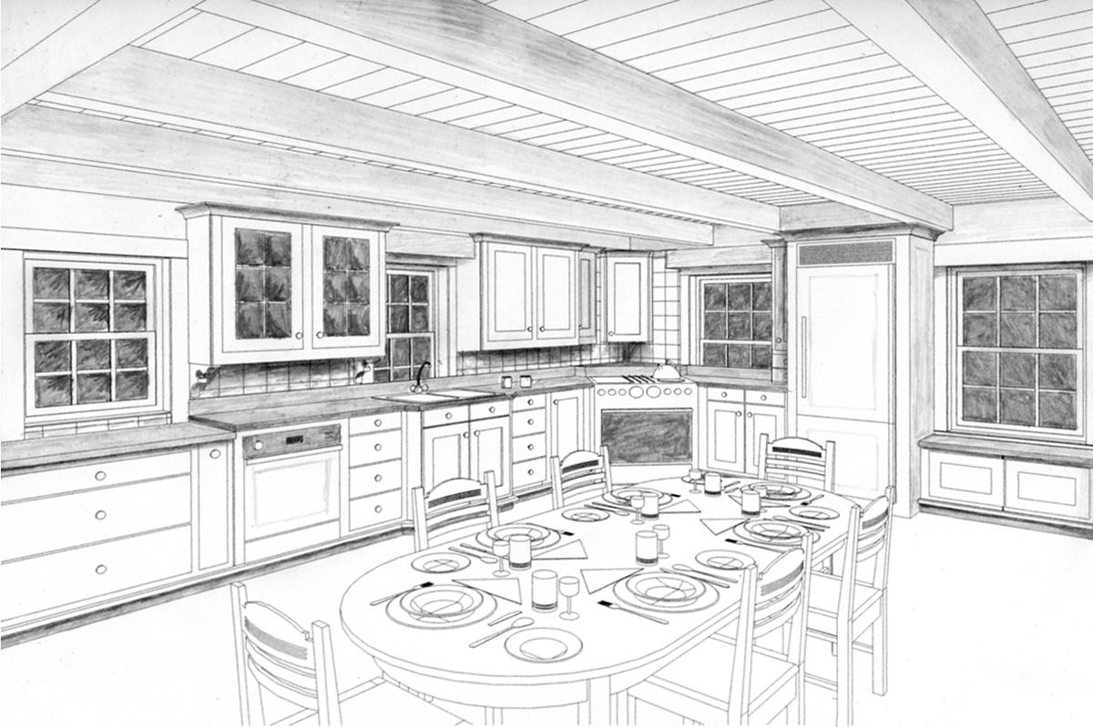 Log House Kitchen Renovation-10