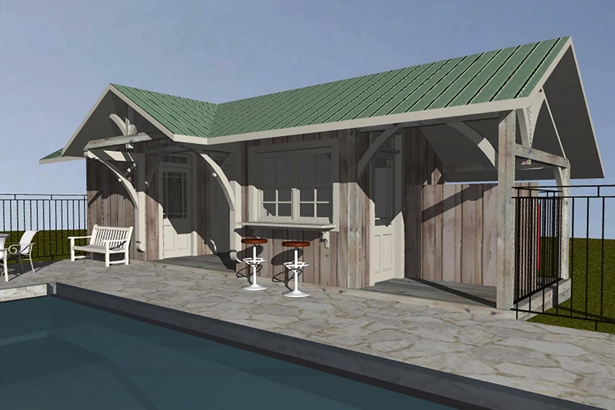 Pool Shed 01